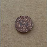 Австрия, 1 евроцент 2011 года
