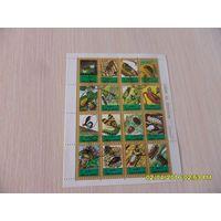 Блок - Марки Кувейта - 16 марок