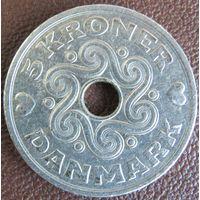 5 крон 1995 Дания KM# 869.1 обмен