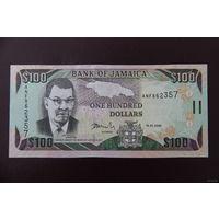 Ямайка 100 долларов 2009 UNC