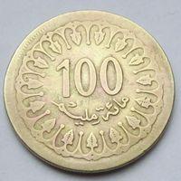 100 миллимов 1960 Тунис
