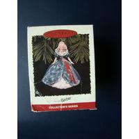 Barbie Happy Holidays Hallmark Keepsake Christmas Ornament 1995