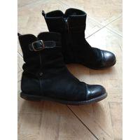 Полусапожки ботинки кожа р.34