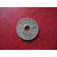 10 сантимов 1932 год Франция