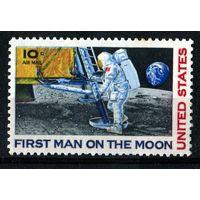 США 1969. Первый человек на Луне