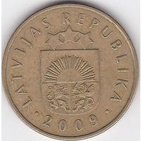Латвия, 20 сантимов, 2009г. (18).