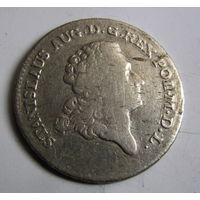 8 грошей двузлотовка 1775 Станислав Август