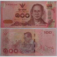Таиланд. 100 бат (образца 2017 года, UNC)