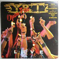 LP Y&T - Open Fire (live) (Nov 1985) Hard Rock
