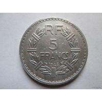 5 франков, Франция 1946 г.