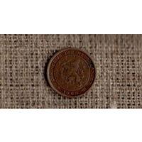 Нидерланды 1/2 цента 1906 /(М*)