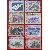 Польша. 25 лет народной армии ( 8 марок ) 1968 года.