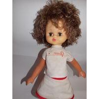 Кукла СССР теннисистка, одежда, туфельки