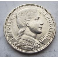 Латвия, 5 лат, 1931, серебро