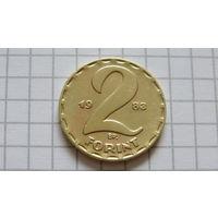2 Форинта -1983- ВЕНГРИЯ -*бронза