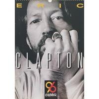 КАЛЕНДАРЬ НАСТЕННЫЙ ПЕРЕКИДНОЙ, Eric Clapton 1996г.