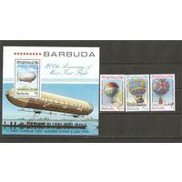 Барбуда 1983 Воздушные шары