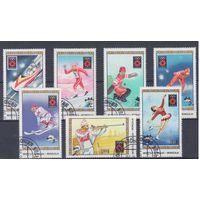 [991] Монголия 1984. Спорт.Зимняя Олимпиада. Гашеная серия.