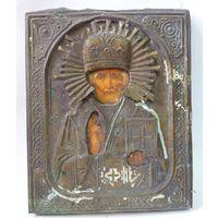 Икона Николай Чудотворец.19 Век, без мнц!