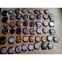 Коллекция разных часов одним лотом с 1 рубля без мц!!!