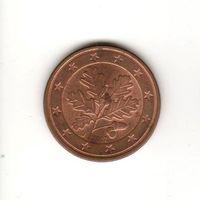 5 евроцентов Германия 2007 J Лот 6949