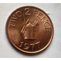 Гернси 2 пенса, 1977 3-8-28