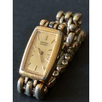 Винтажные женские классические наручные часы SEIKO QUARTZ (Japan) металлический браслет