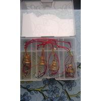 Кормушка для рыбалки 4-шт + коробка