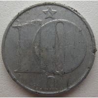 Чехословакия 10 геллеров 1977 г. (v)