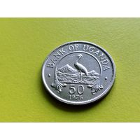 Уганда. 50 центов 1976. (2).