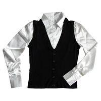 Элегантная блузка-жилетка, теплая р.50-52, новая