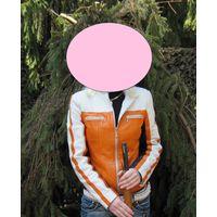 Куртка кожаная, р.42