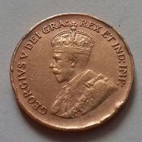 1 цент, Канада 1934 г.