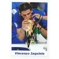 Vincenzo Iaquinte(Италия). Живой автограф на фотографии.