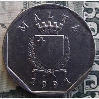 5 центов 1991