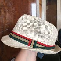 Шляпа натуральная папир детская 52