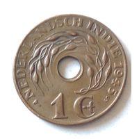 Голландская Ост-Индия, 1 цент 1945 S