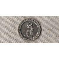 Испания 200 песет 1992 /герб МАДРИДА/(ОI)