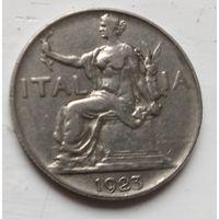 Италия 1 лира, 1923  2-11-2