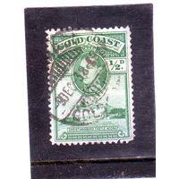 Золотой берег. Mi:GB-GC 105. Король Георгия VI и крепость Кристиансборг (1938-41)