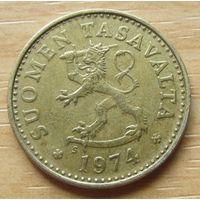 ФИНЛЯНДИЯ-10пенни1974г.          KM# 46