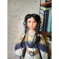Кукла.Индианка.Высота 77см.