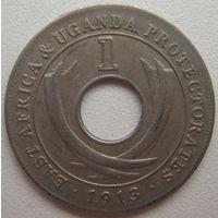 Британская Восточная Африка и Уганда Протекторат 1 цент 1913 г.