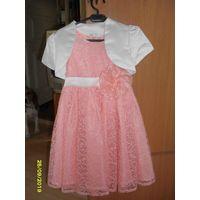 Платье детское на девочку 4-5 лет