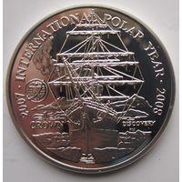 Фолклендские острова. 1 крона 2007. Серебро (376)