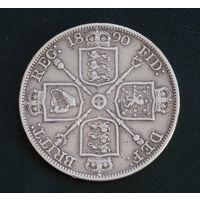 Великобритания двойной флорин 1890