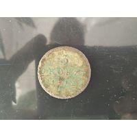 Герцогство Варшавское.1812 г.  3 гроша.