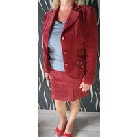 Пиджак 52-54+подарок юбка