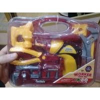 Новый детский набор инструментов(чемодан)Распродажа!! 20рублей