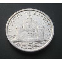 Остров Мэн 5 пенсов. 2004г.